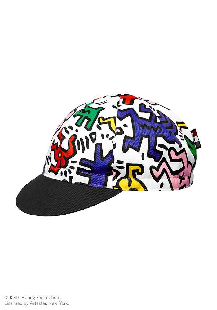486873b5205 ATQ x Keith Haring Cap   Cycling   Keith haring, New york graffiti, Cap