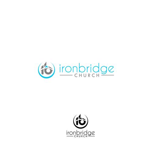 Ironbridge Church Modern Logo Icon For An Urban Youthful Church Community Church Of About 1500 Members Target Audience Is Modern Logo Logo Design Logo Icons