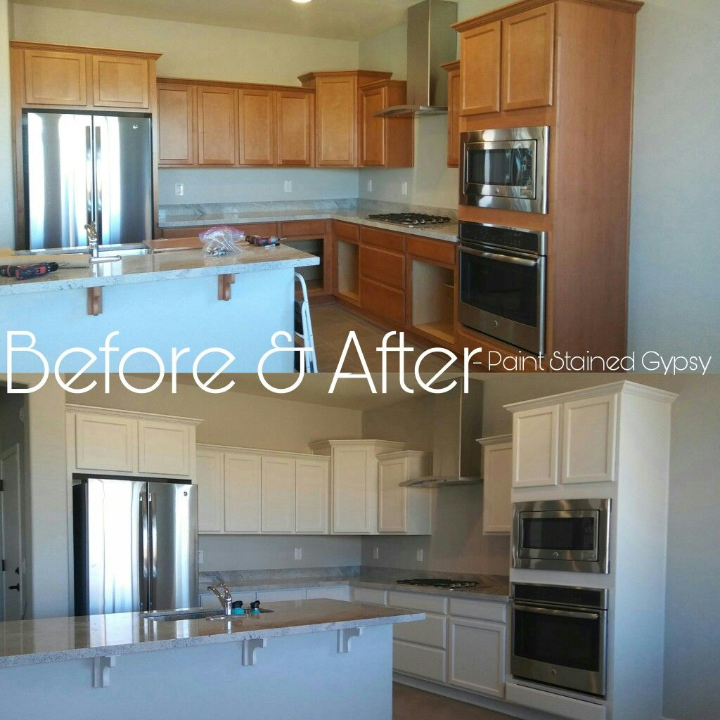 Before And After Kitchen Cabinet Refinishing Kitchen Cabinets Before And After Whitewash Kitchen Cabinets Kitchen Cabinets