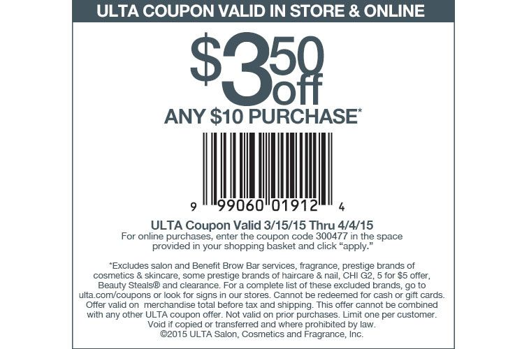 Ulta Com Cosmetics Fragrance Salon And Beauty Gifts Ulta Coupon Ulta Jcpenney Coupons