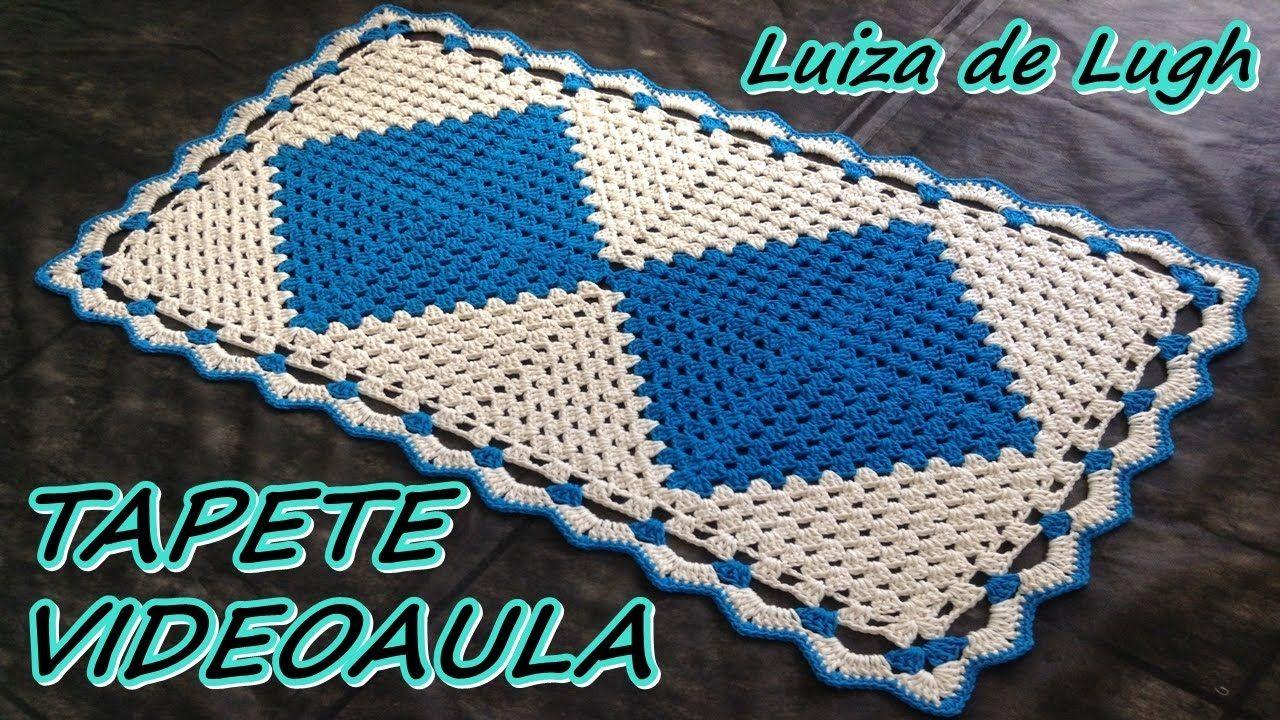 TAPETE FÁCIL E LINDO # LUIZA DE LUGH | Tapetes retangulares ...