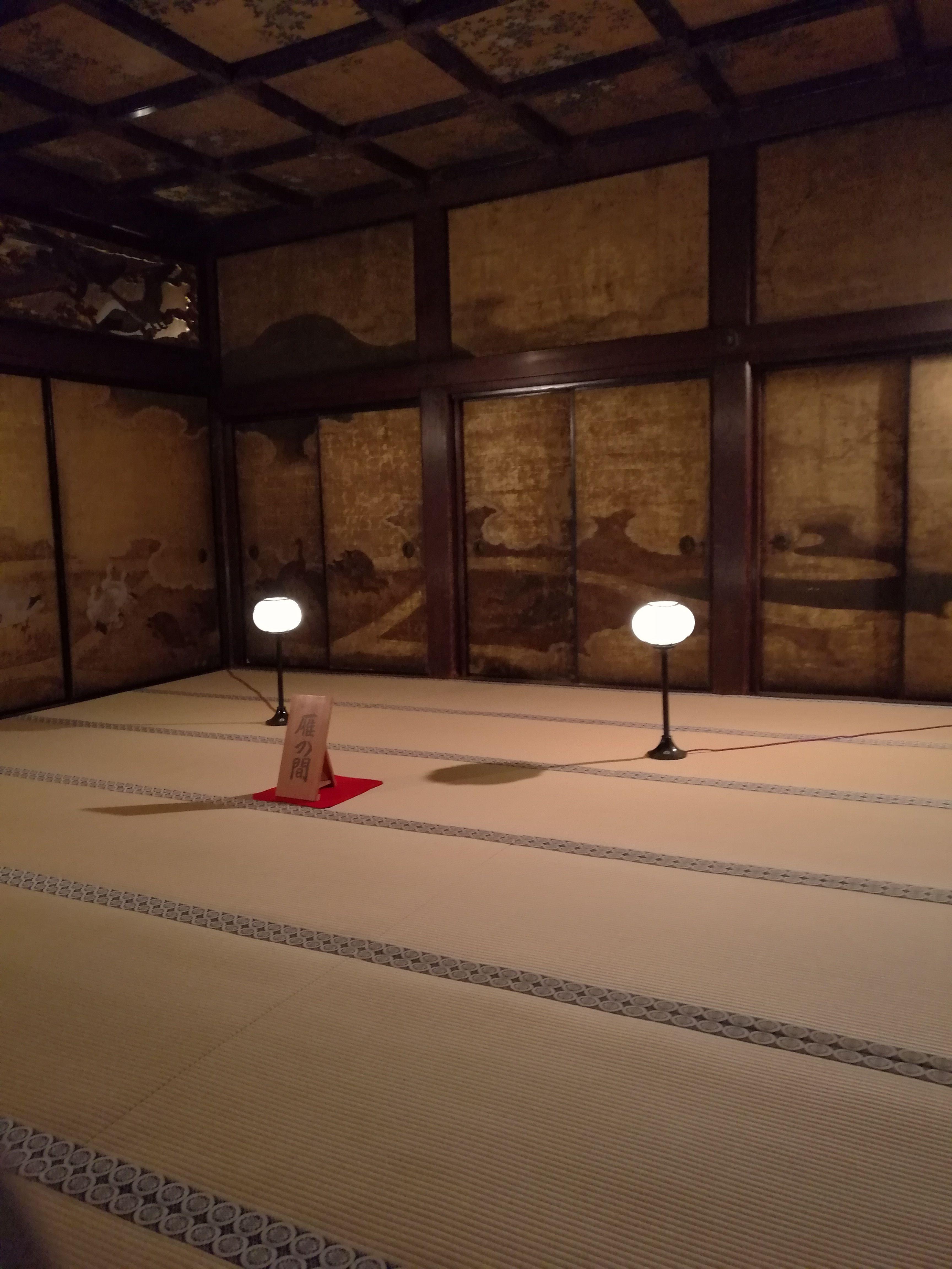Interior de uno de los templos