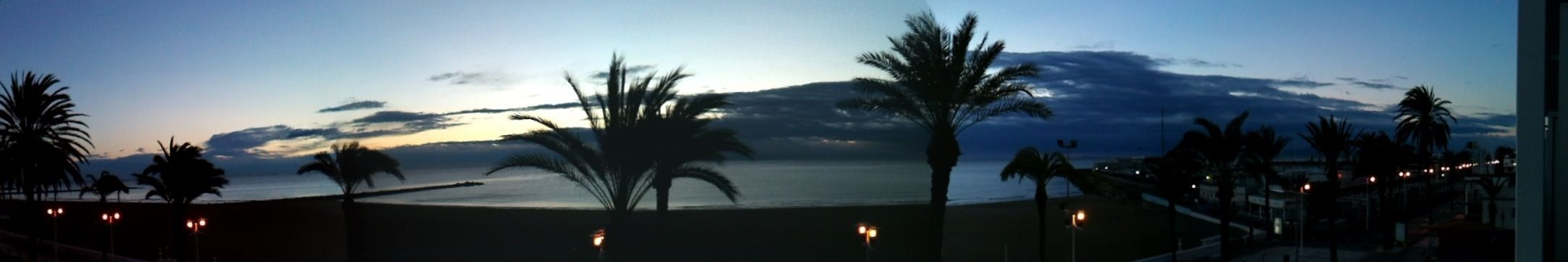 Panorámica on the beach!!!