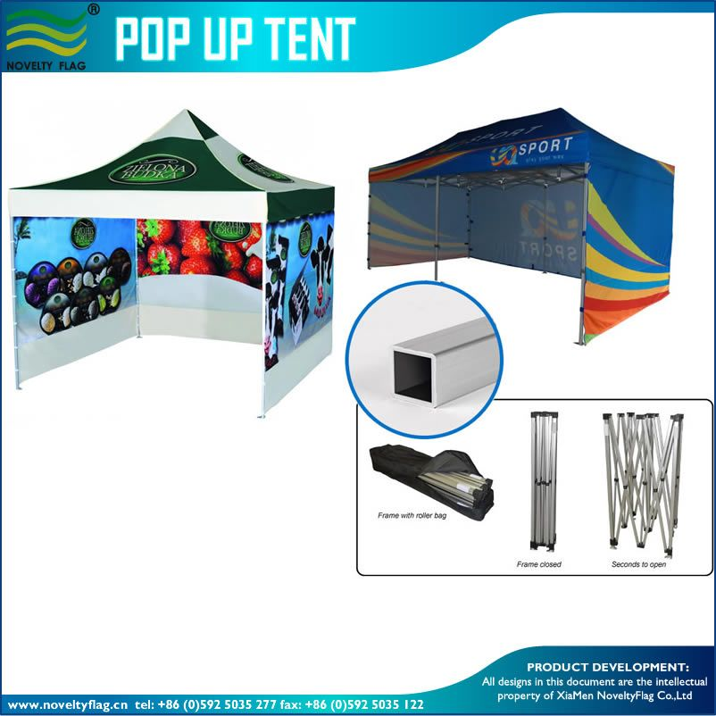 2016 economic outdoor exhibition custom printed large canopy tent - Open Canopy 2016