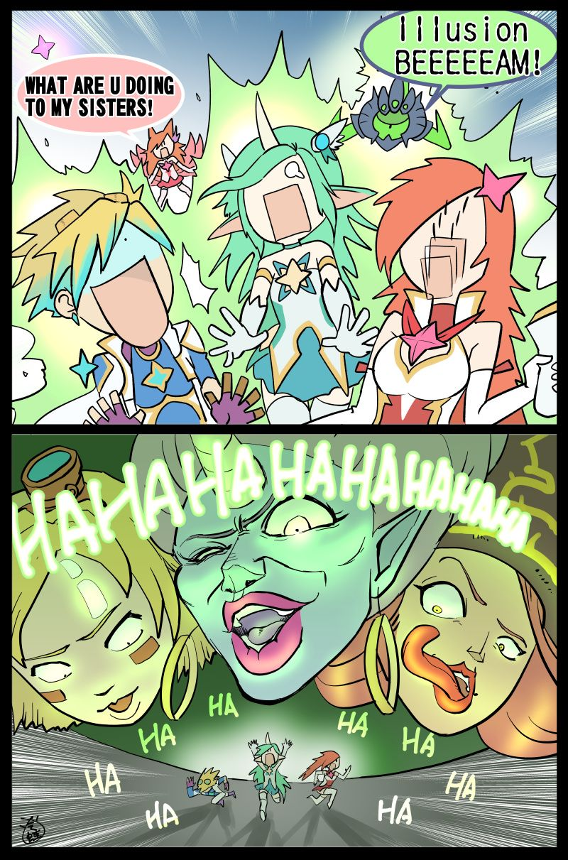 Onslaught Comic Ilusion Attack By Lcomicer Lol League Of Legends League Memes League Of Legends