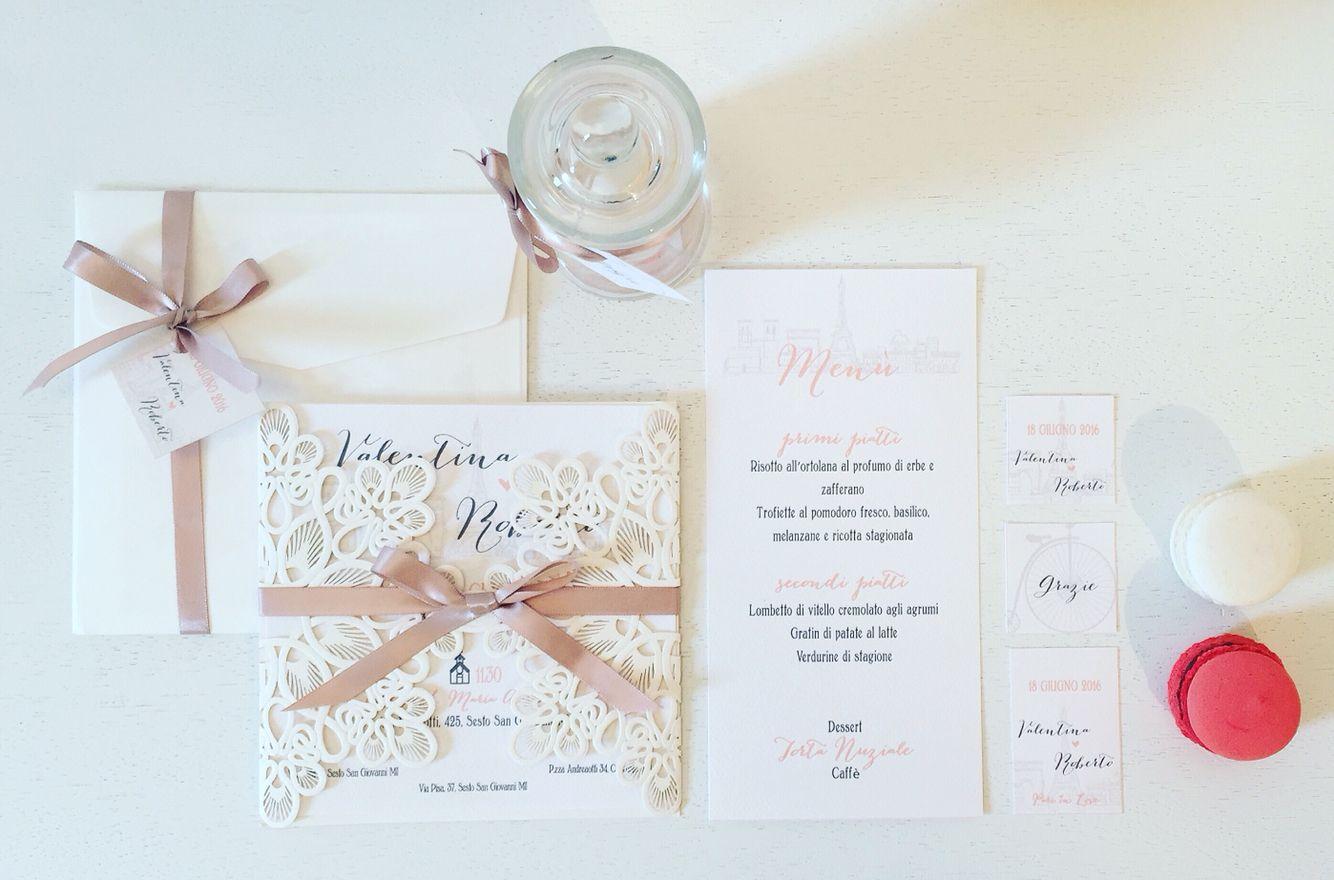 Parismood Wedding by Carta&Cotone