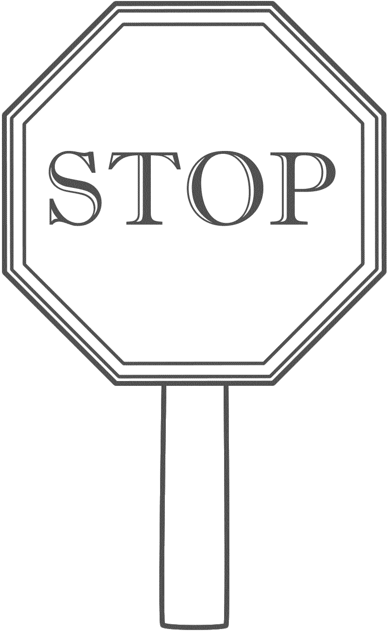 Stop Sign Coloring Pages Coloring Pages Stop Sign Stop Sign Picture