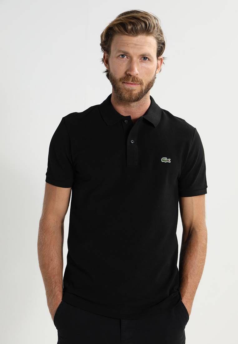 1c6ac9056 PH4012 POLO SLIM FIT - Poloshirt - black | Lacoste, Kleding and Polos