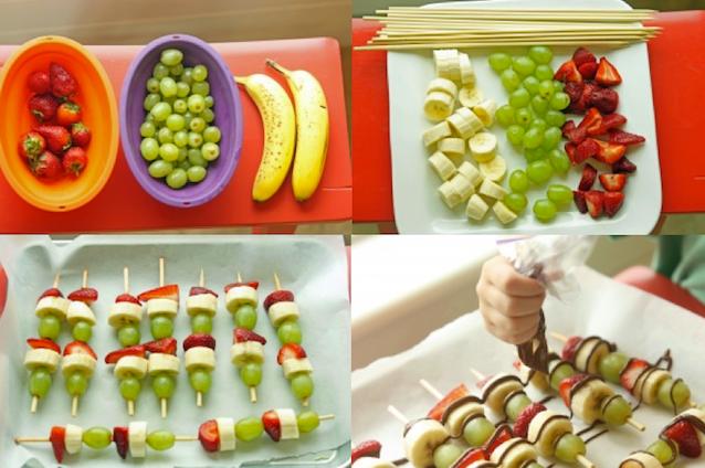 make fruits attractive