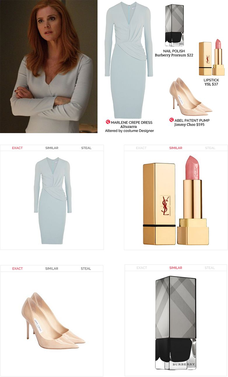 donna paulsen s office style in suits usa steal the style at spylight suitsusa