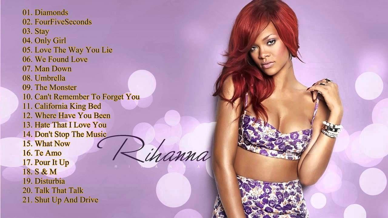 Best Song Of Rihanna 2015 Rihanna Greatest Hits Full Album