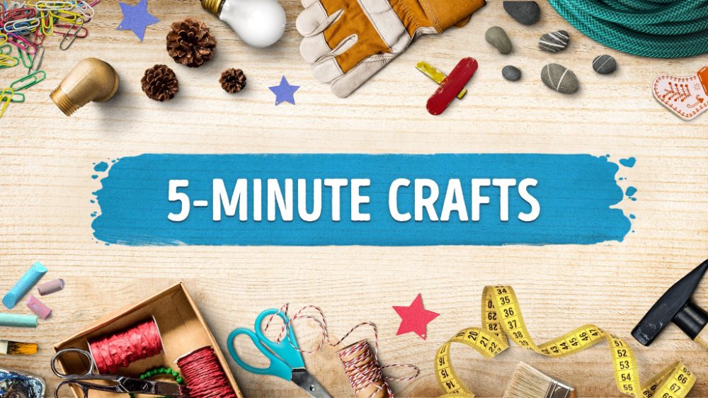 5-Minute Crafts - YouTube #5minutecraftsvideos