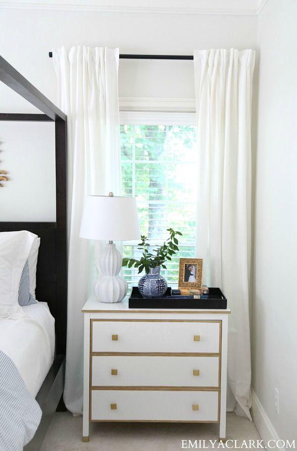 DIY Painted Furniture Inspiration: Chevron Bone Chest - Emily A. Clark