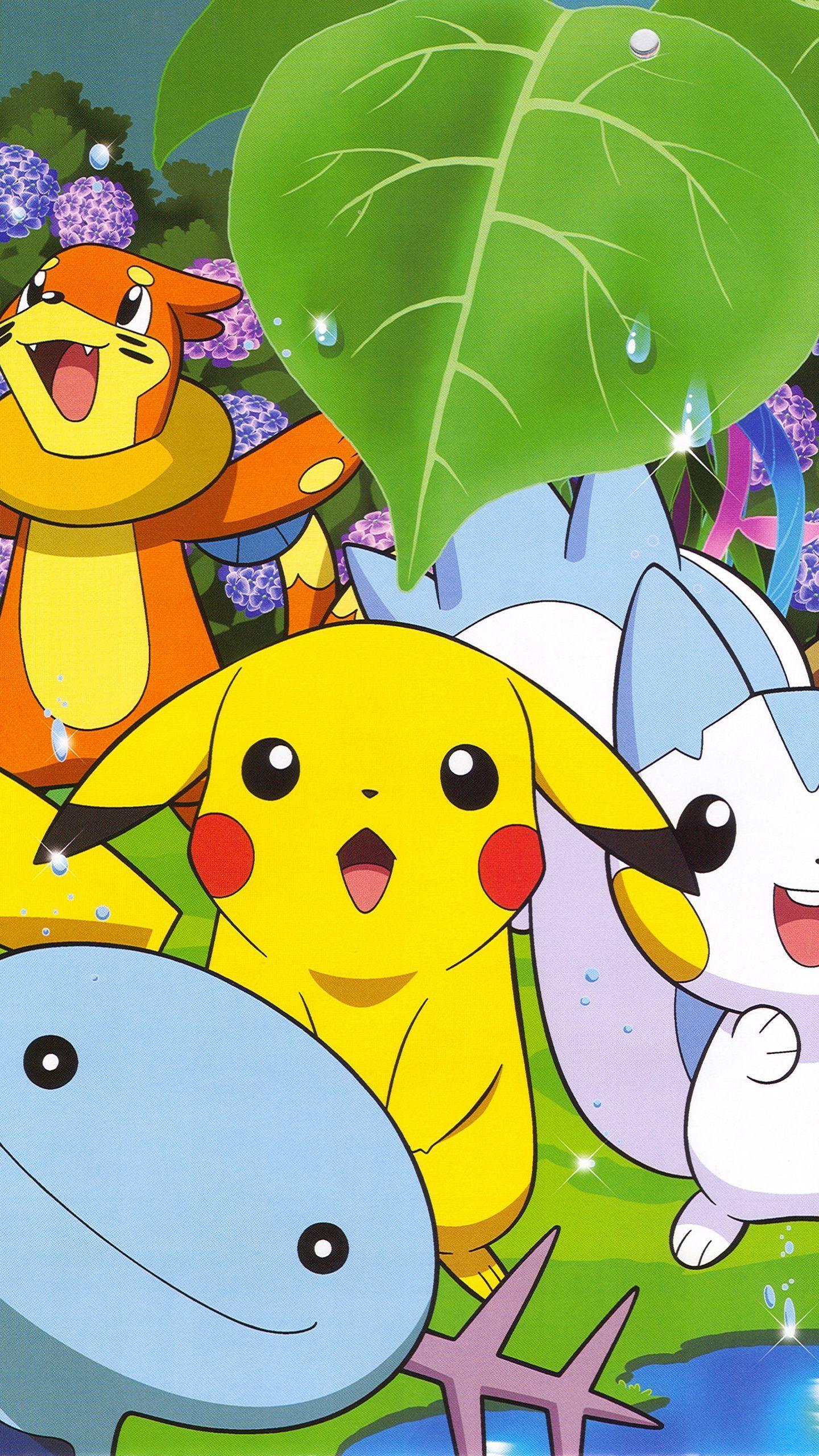 Galer a de fondos de pantalla de pokemon para m viles y - Sites de animes para celular ...