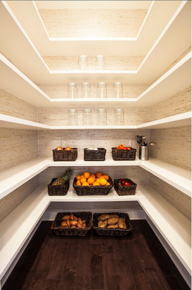 custom kitchen pantry designs. This Custom Kitchen Pantry Is All About The Shelving  Which Adds Plenty Of Space