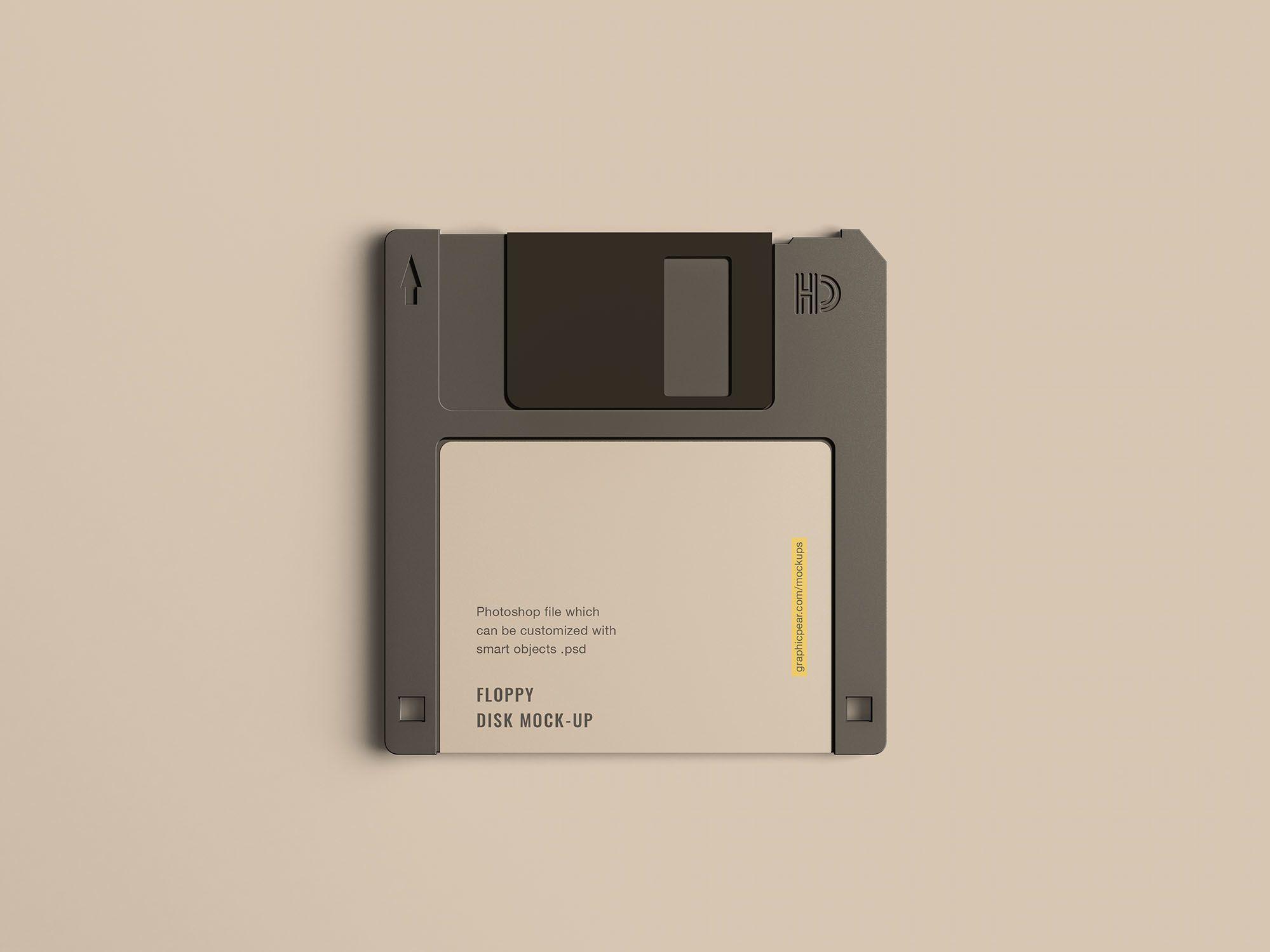 Floppy Disk Mockup | FREEBIES - MOCKUPS | Floppy disk, Mockup, Logos