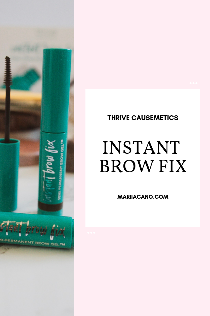 Instant Brow Fix Thrive Review Eyebrow gel, Perfect