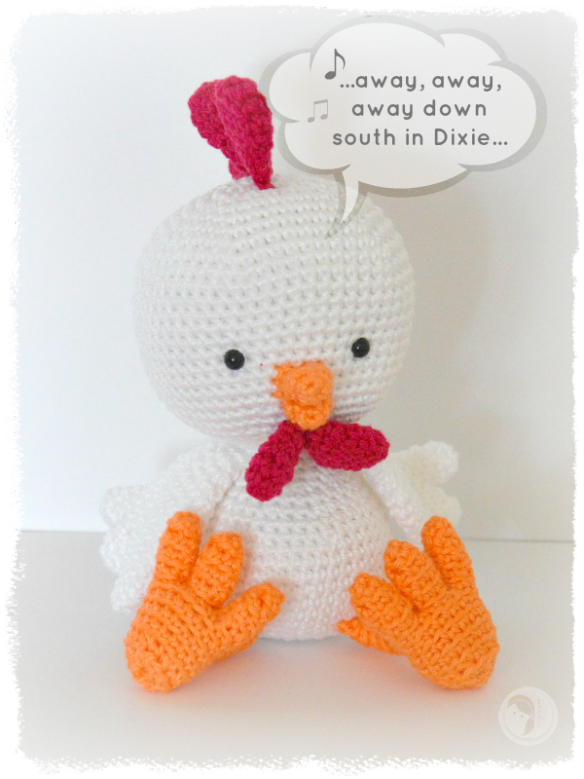 Dixie Chick With A Free Pattern Amigurumi Farm Animals