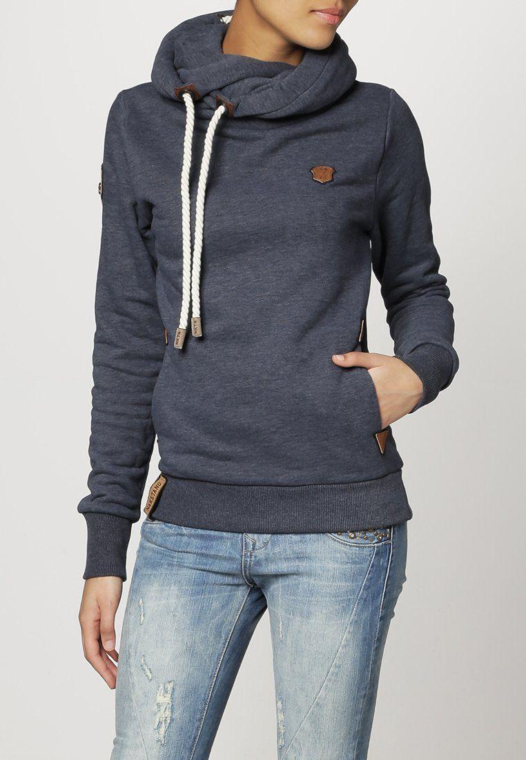 Naketano Hoodie blue | Kapuzenpullover, Coole outfits
