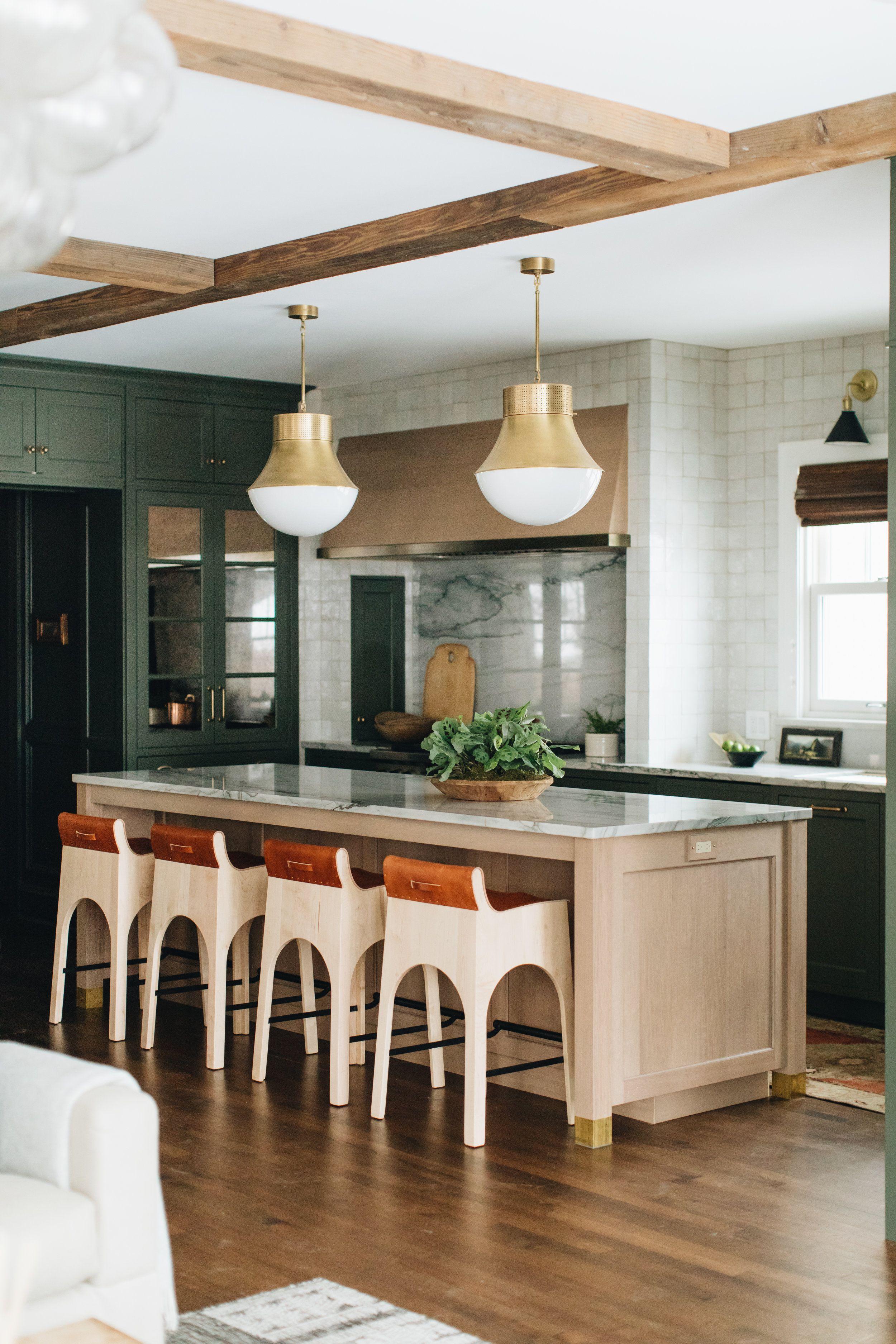 Fair Oaks Green Kitchen Jean Stoffer Design Interior Design Kitchen Dark Green Kitchen Kitchen Design