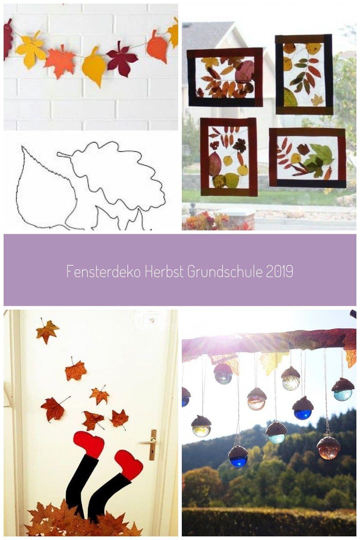 Fensterdeko Herbst Grundschule #fensterdeko herbst Fensterdeko Herbst Grundschule 2019 #fensterdekoherbst