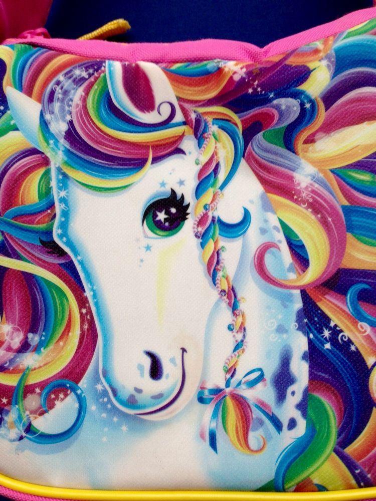 Lisa Frank Rainbow Majesty Horse Unicorn Sparkle Pink