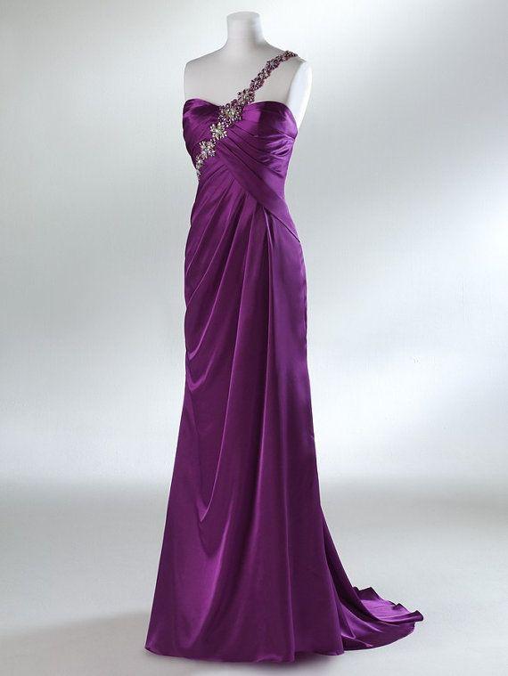 meinropa,abiball-/abschlussballkleider, abendkleider 2013,prom dress,abendkleider lang,lila,one shoulder