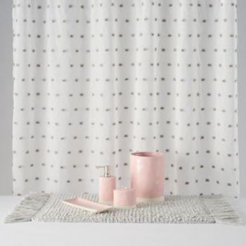 LC Lauren Conrad Pom Shower Curtain Collection