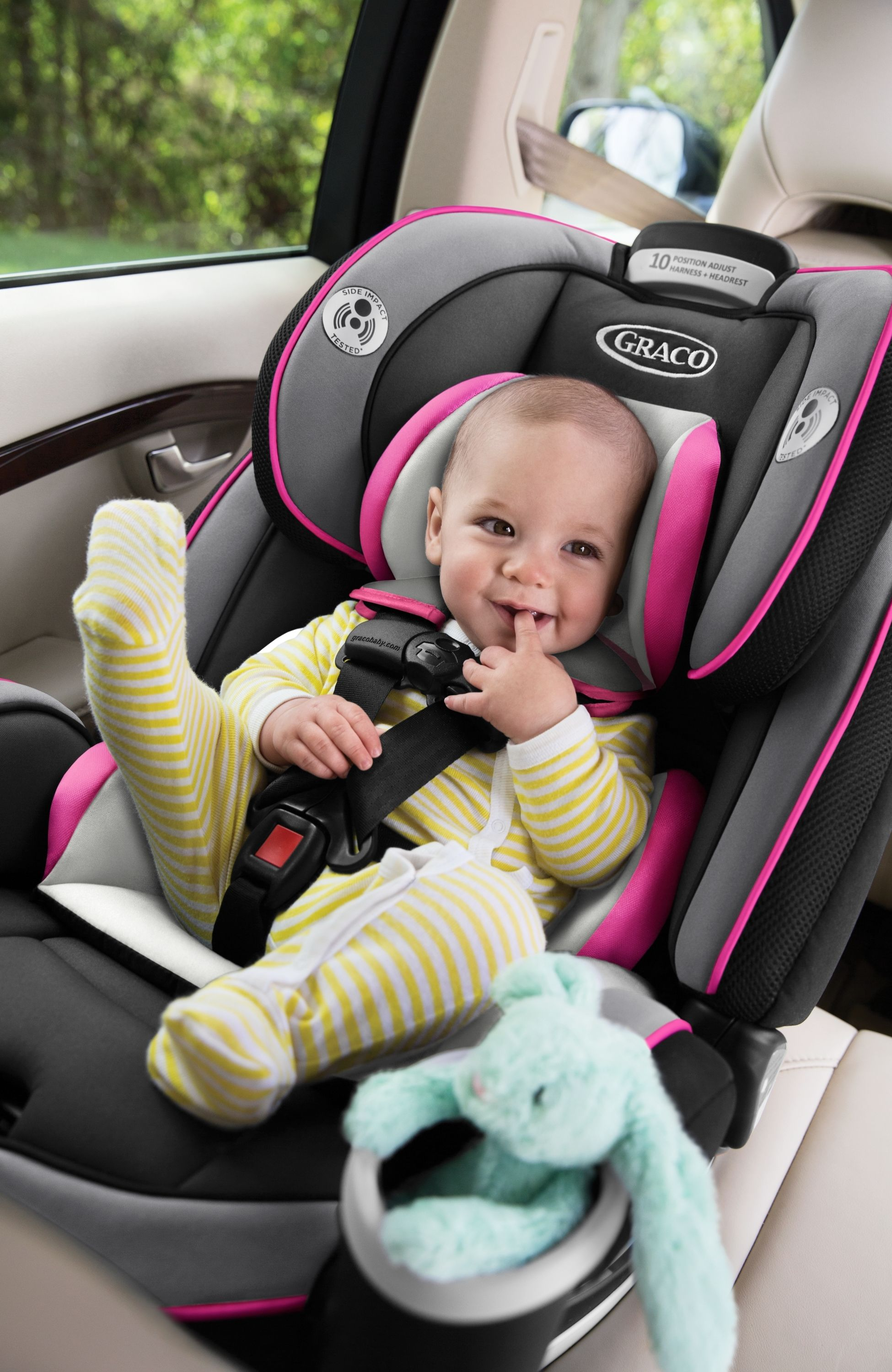The Graco 4Ever AllinOne Car Seat in Kylie is the only