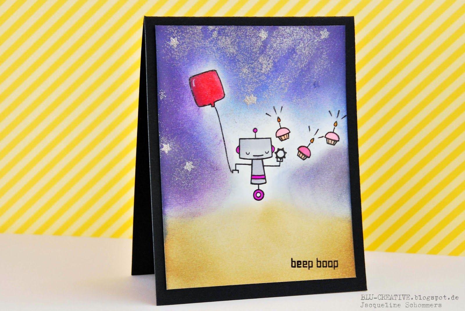 BLU-CREATIVE: Beep Boop Birthday