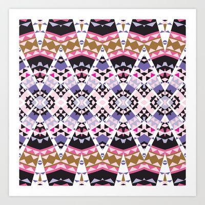 Mix #112 Art Print by Ornaart - $32.00