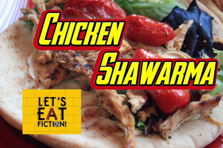 Chicken Shawarma Sandwich The Avengers Chicken Shawarma Sandwich Chicken Shawarma Recipe Shawarma Recipe