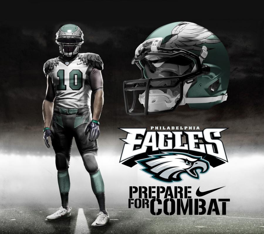 d51dc580 Philadelphia Eagles Concept Uniform | Sports | New york jets, Nfl ...