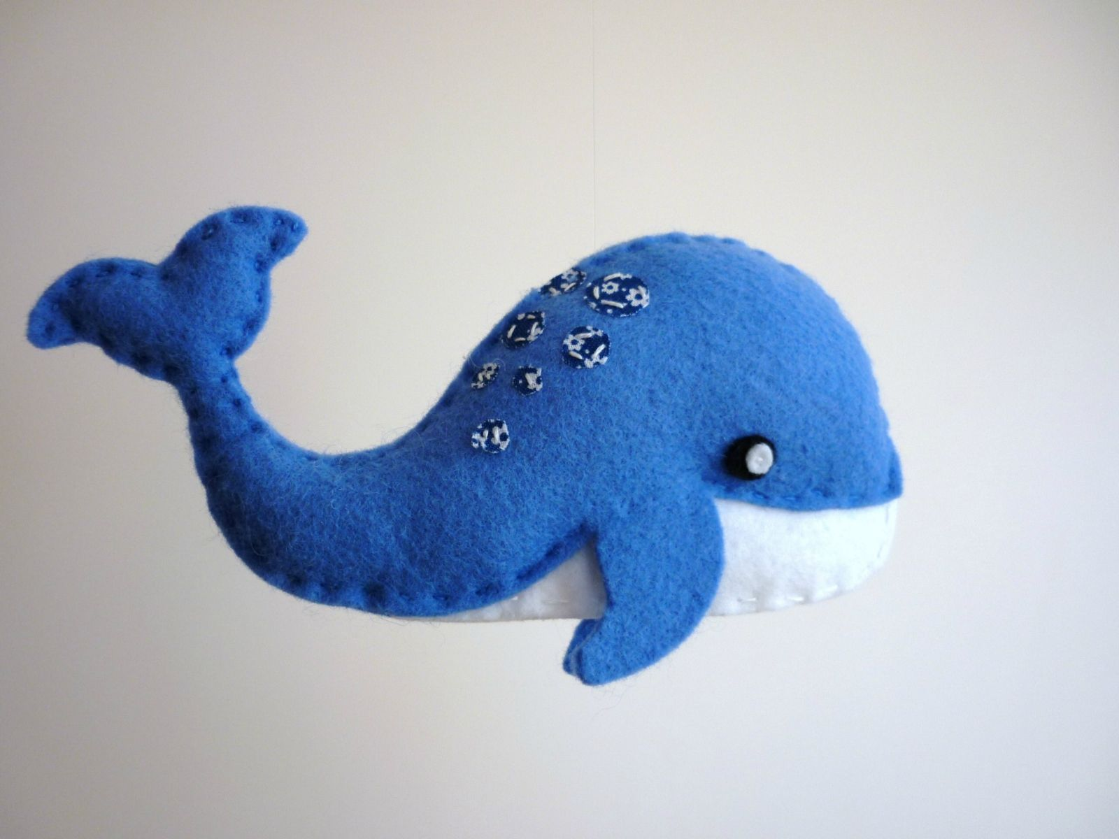 Blinky The Happy Blue Whale And Friends Baby Mobile