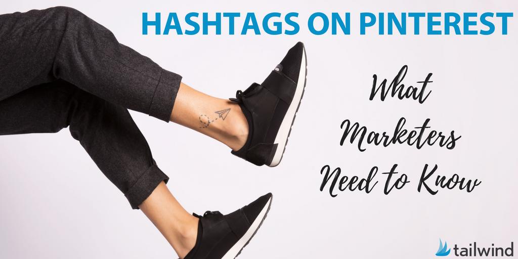 Hashtags on Pinterest - What Marketers Need to Know #pinterestmarketing #pinteresthashtags http://shareasale.com/r.cfm?b=1006941&u=1321822&m=50947&urllink=&afftrack=