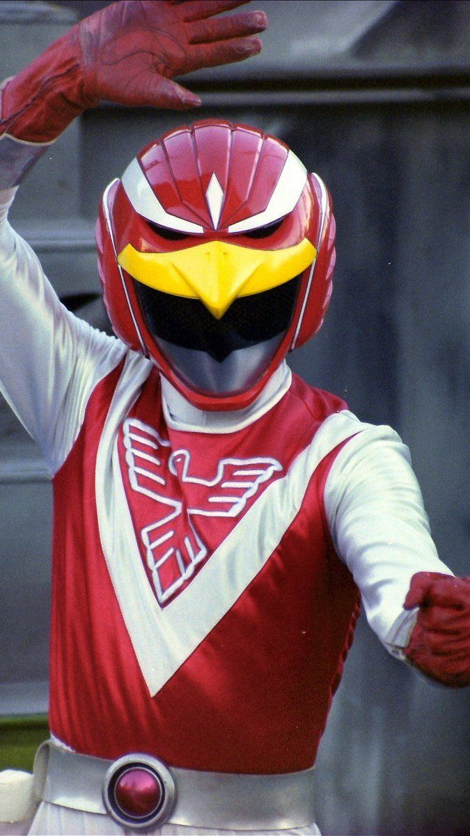 Red Falcon Japanese superheroes, Power rangers, Power