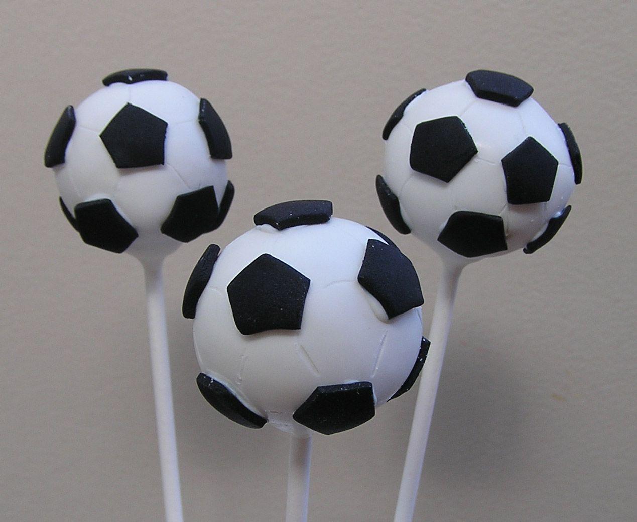 Soccer Balls With Images Soccer Cake Pops Soccer Cake Cake Pops