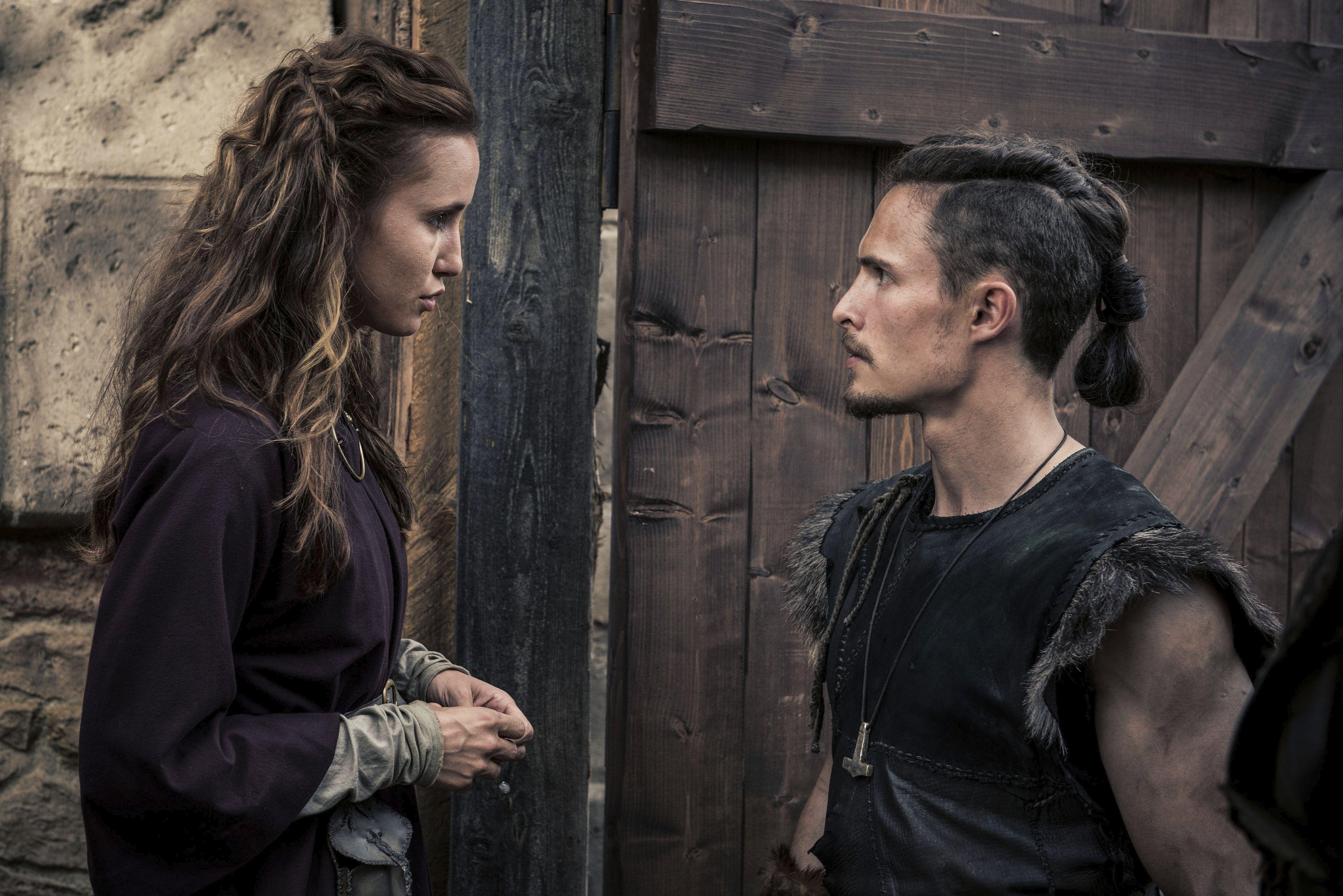 3 Temporada De The Last Kingdom the last kingdom - gisela and sihtric