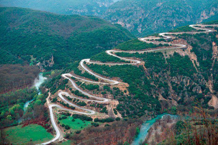 On the way to Papigo - Zagorohoria (Zagoria villages