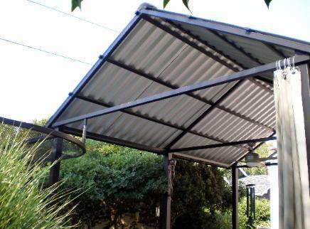 Twisted Metal Of Sacramento Roof Design Patio Roof Pergola