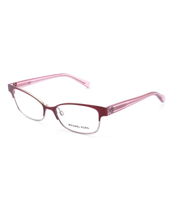 Look at this Michael Kors Light Pink Palos Verdes Eyeglasses on ...
