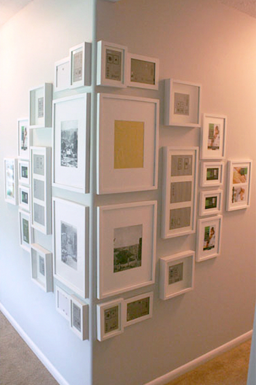 13 Unusual Picture Frame Wall Decorating Ideas On A Budget  Decor
