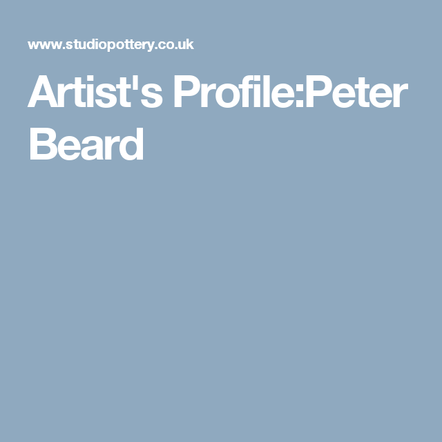 Artist's Profile:Peter Beard