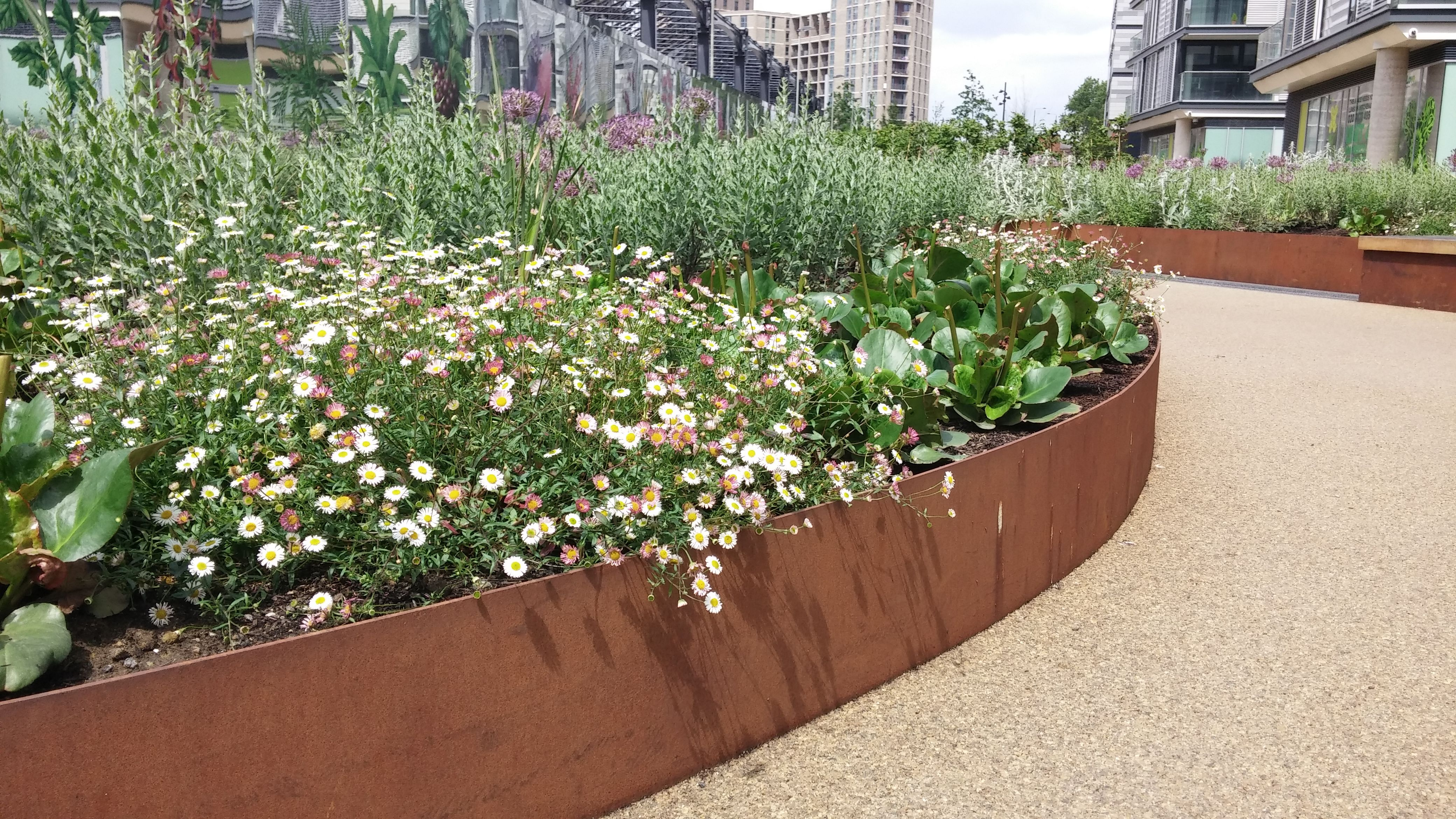handyside gardens in london by townshed landscape architects