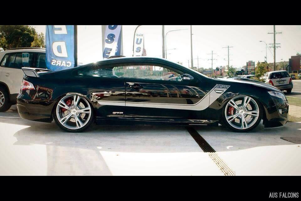 This is a custom oneofakind 2door pillarless Ford 'FG