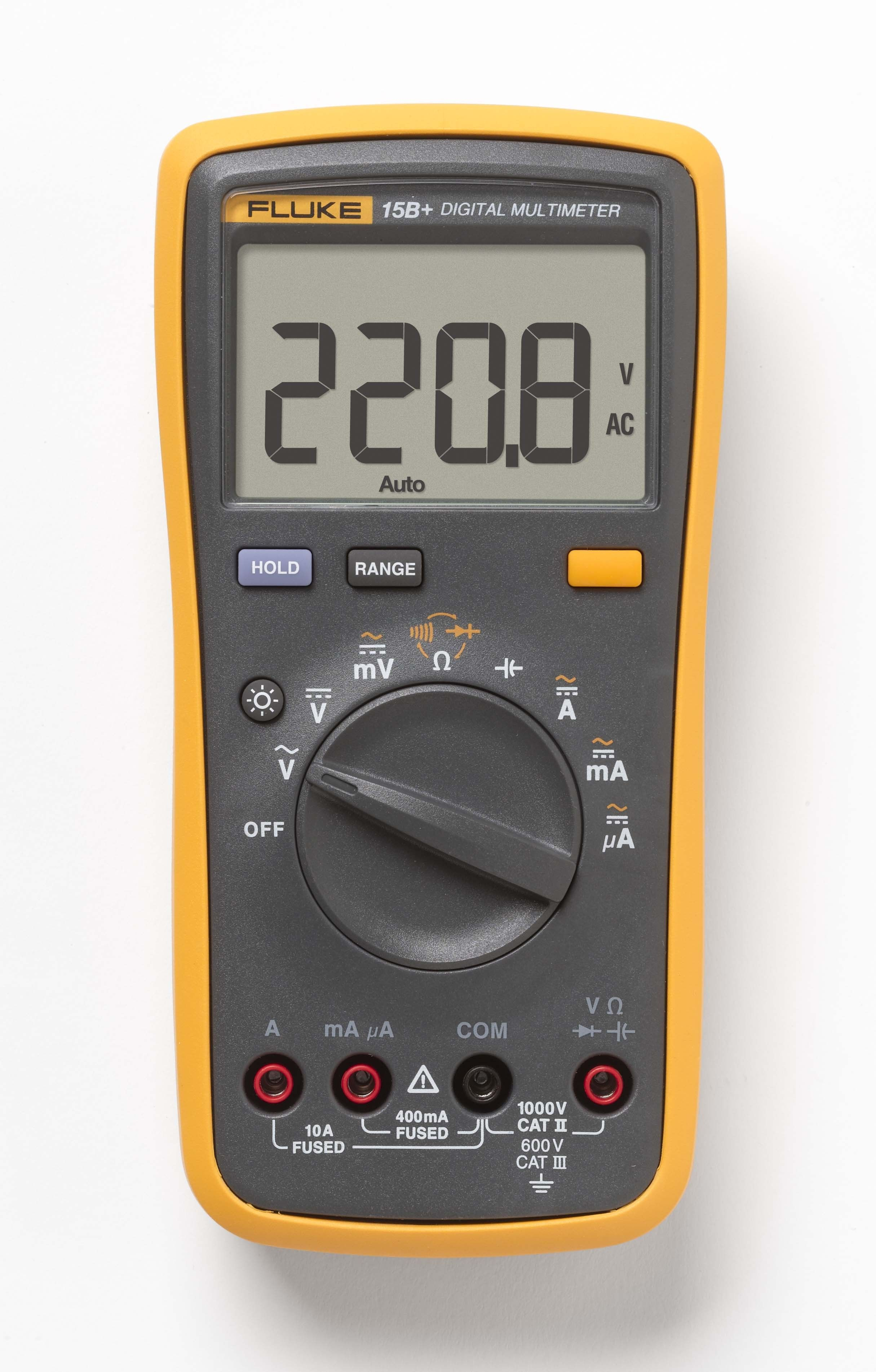 Fluke 15B+ Digital Multimeter Multimeter, Metering, Digital