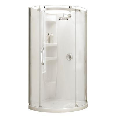 MAAX Bath - Olympia Round Shower Kit - Left Hand Opening - 105960 ...