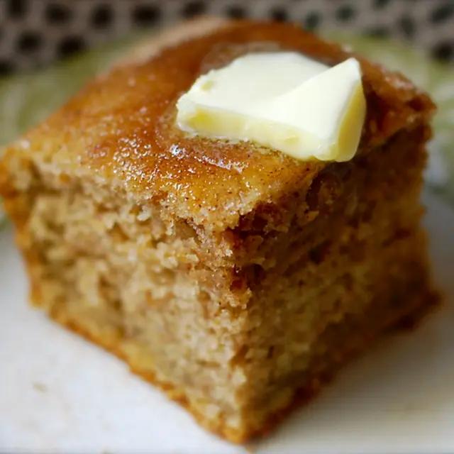 Simple Vanilla Keto Cake: Amish Mayonnaise Applesauce Snack Cake