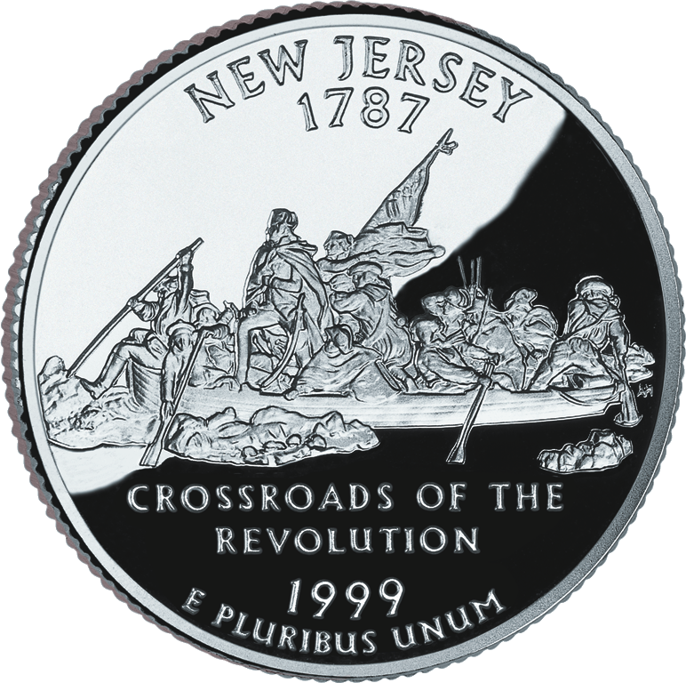 New Jersey State Quarter Year I Graduated HS Pinterest - Rare us state quarters