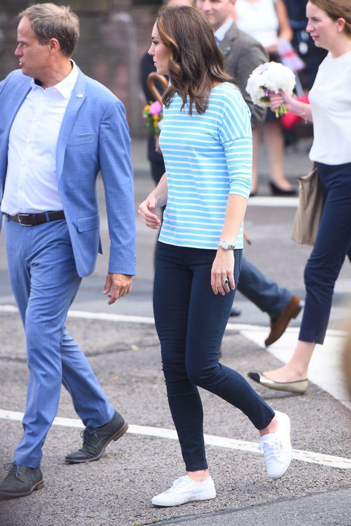Kate Middleton Swaps Designer Shoes for